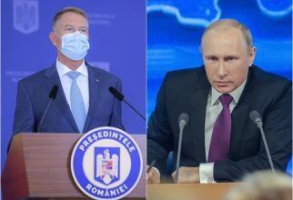 Iohannis îi răspunde lui Putin: Nu intenţionăm să atacăm pe nimeni