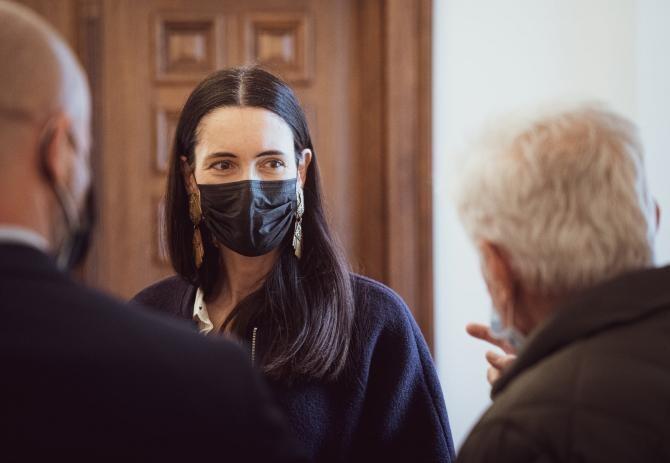 Clotilde Armand, numire la CET Grivița / Foto: Facebook