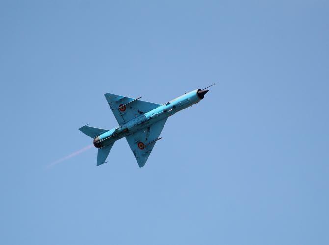 Un avion MiG-29 s-a prăbușit în Marea Neagră   /  Foto cu caracter ilustrativ: Pixabay