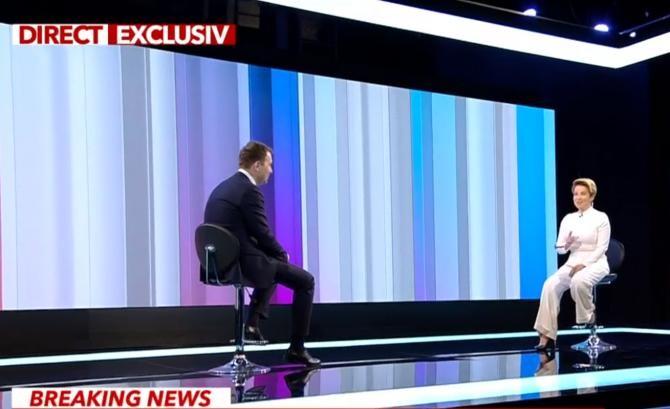"""Sursa foto: captură """"În fața națiunii"""" - Antena 3"""