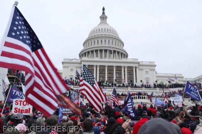 rima persoană inculpată pentru atacarea jurnaliștilor din timpul asaltului de la Capitoliu