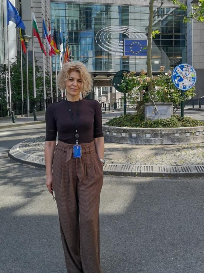 Carmen Avram, despre Raportul Matic / Foto: Facebook Carmen Avram