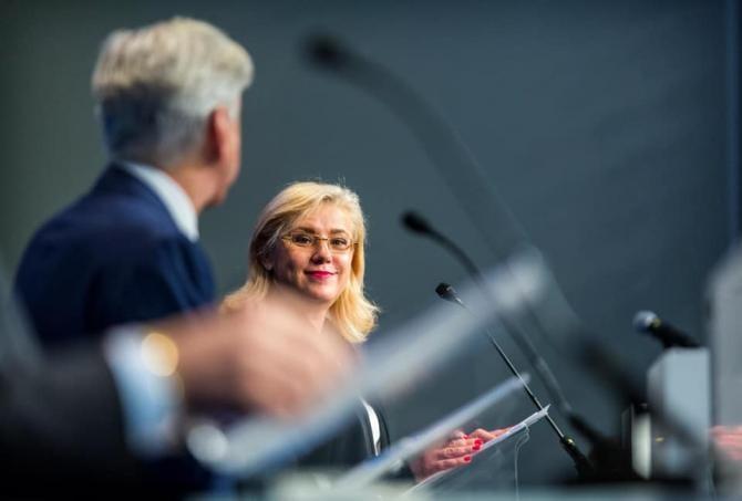 Corina Crețu, mesaj în Parlamentul European / Foto: Facebook