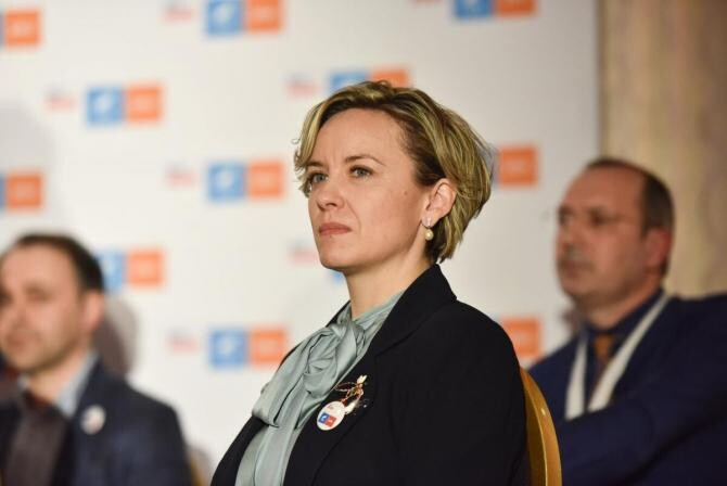 Cosette Chichirău nu mai candidează pentru șefia USR-PLUS Iași. Deputata își dorește o funcție în conducerea centrală a partidului   /  Sursa foto: Facebook Cosette Chichirău