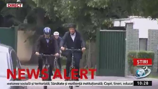 De ce nu merg oamenii mai mult cu bicicleta. Iohannis arată care sunt problemele din Bucureşti şi din ţară