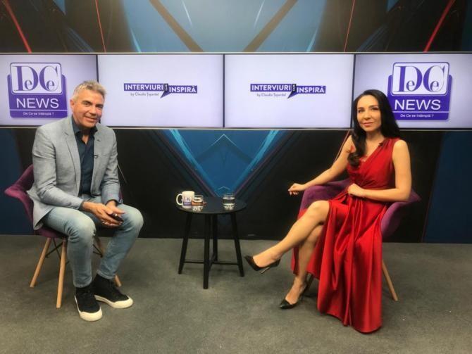 """Dragoș Anastasiu, invitatul Claudiei Țapardel la """"Interviuri care Inspiră"""""""