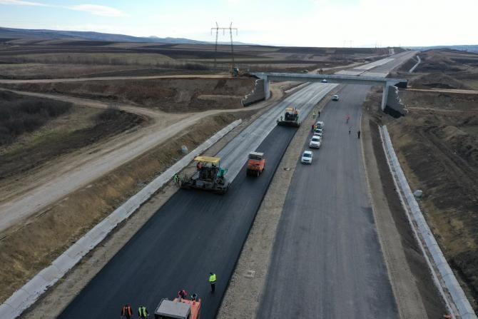 Autostrada A10 - Foto Facebook Cătălin Drulă