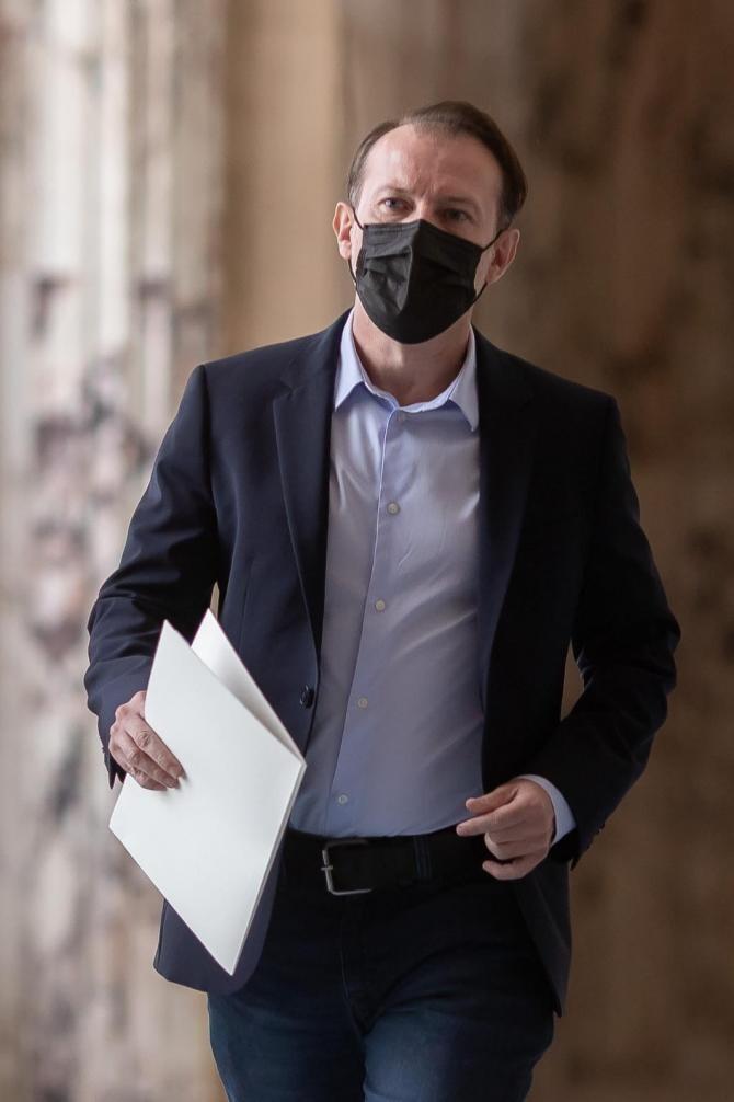 Florin Cîțu admite faptul că unii parlamentari din coaliție vor participa la moțiune / Foto: Facebook Florin Cîțu