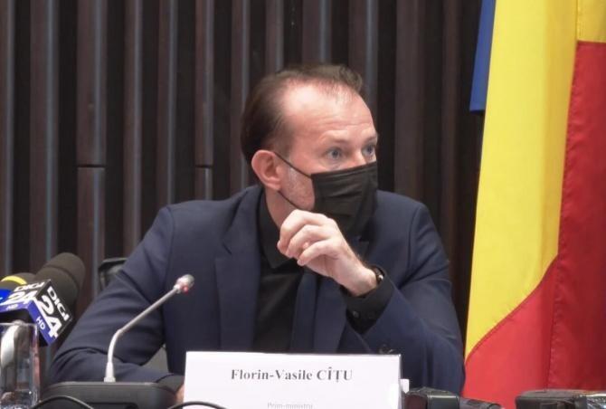 Florin Cîțu: Îmi face o mare plăcere să vin la Sibiu. Dacă se poate aici, se poate în toată țara! /  Sursă foto: Guvernul României