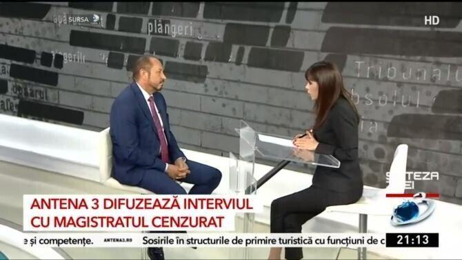 Sorin Iașinovschi, interviu pentru KanalD / Captură Antena3