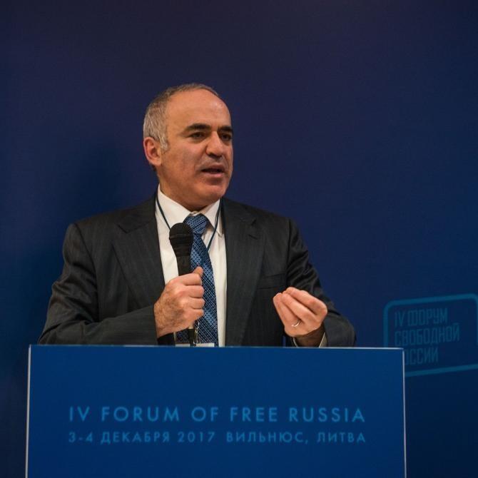 Gari Kasparov, mesaj dur pentru Vladimir Putin / Foto: Facebook