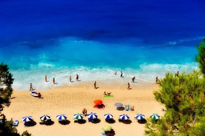 foto pixabay/ Reguli la plajă în Grecia