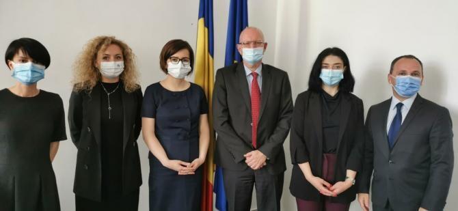 Ioana Mihăilă, întrevedere cu ambasadorul Danemarcei în România. Ce au discutat