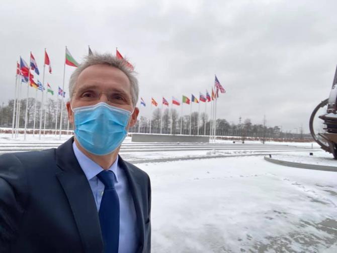 Summit NATO. Stoltenberg avertizează asupra provocărilor generate de Rusia şi China  /  Sursă foto: Facebook Jens Stoltenberg