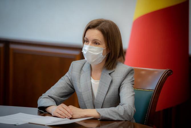 Maia Sandu a solicitat retragerea trupelor ruse din Transnistria  /  Sursă foto: Facebook Maia Sandu