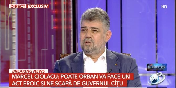 foto Antena 3/Marcel Ciolacu
