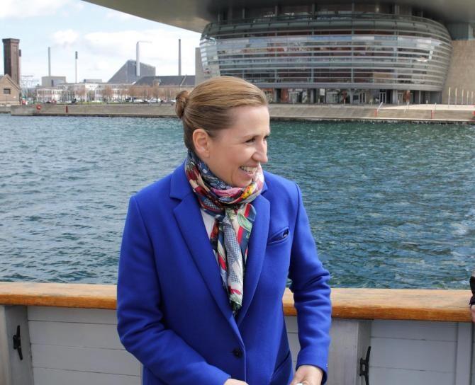 Facebook Mette Frederiksen, premierul Danemarcei
