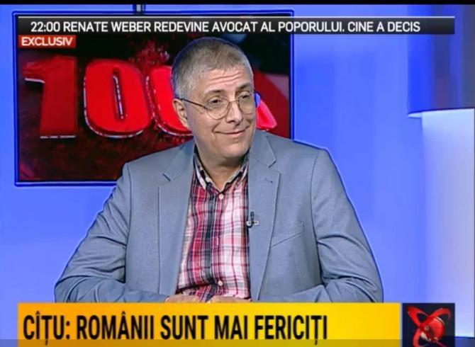 Val Vâlcu, după votul moțiunii de cenzură / Foto: Captură video Realitatea Plus