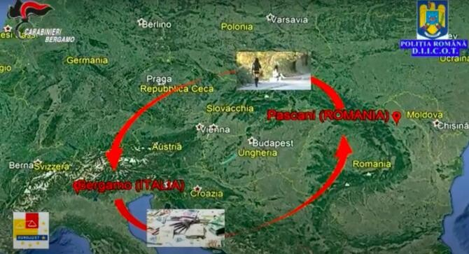 Foto: Captură video Poliția Română