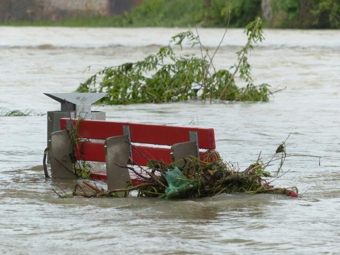 Potop în Vrancea. Imaginile care spun totul despre prăpădul cauzat de inundații