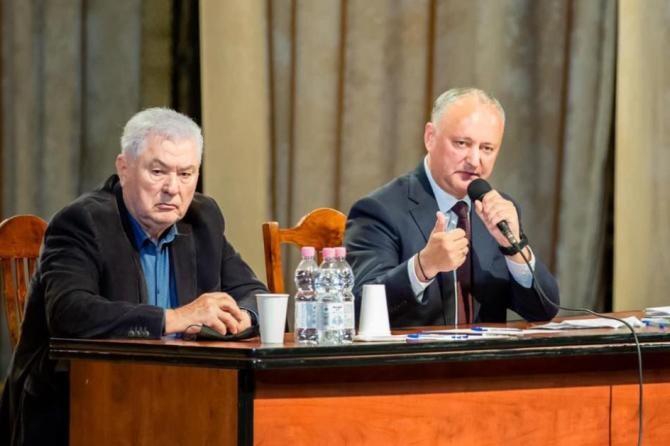 Propaganda rusă în Basarabia. Ioana Constantin: Se opun unionismului și sunt anti-Europa  /  Sursă foto: Facebook igor Dodon