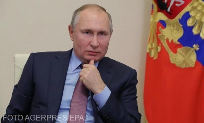 Putin laudă Partidul Rusia Unită, aflat la putere. 'Extremiștii' lui Navalnîi au interzis la alegeri