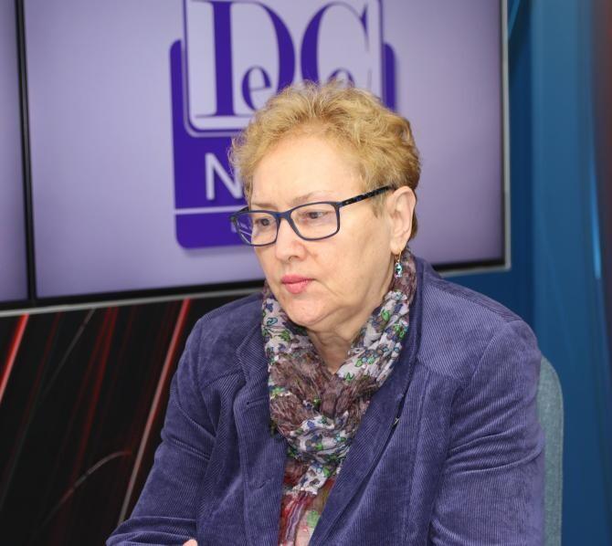 Renate Weber. Foto: Crişan Andreescu