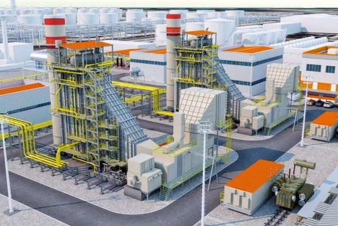 Centrala de cogenerare de la Midia va fi construită în 2 ani. Foto: Rompetrol