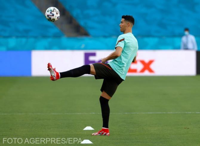 Ronaldo, pregătire pentru meciul cu Belgia, în Sevilla