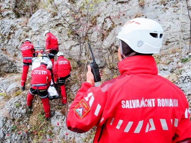 Pompierii și salvamontiștii, intervenții de urgență / Foto: Facebook Salvamont România