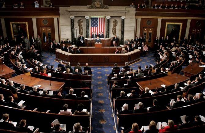 Kamala Harris a prezidat votul din Senat