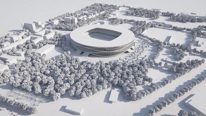Stadionul, o investiție de 122 milioane de euro