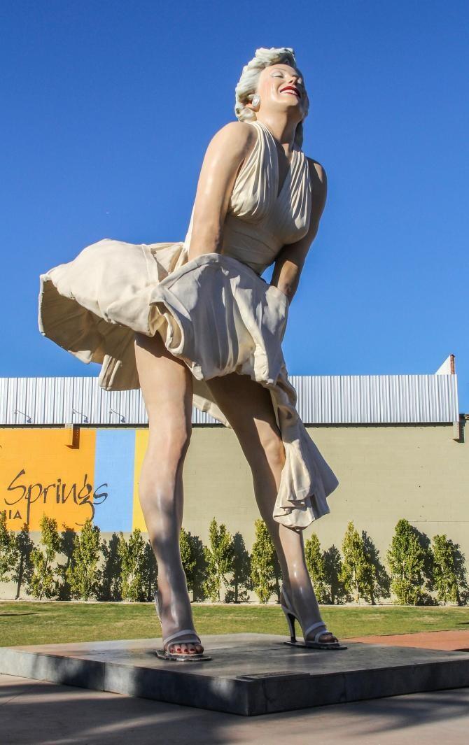 O statuie a lui Marilyn Monroe a stârnit proteste și lansarea de petiții în SUA / Sursă foto: Pixbay