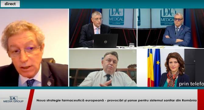 Prof. dr. Streinu-Cercel, la dezbaterea DC Media Group