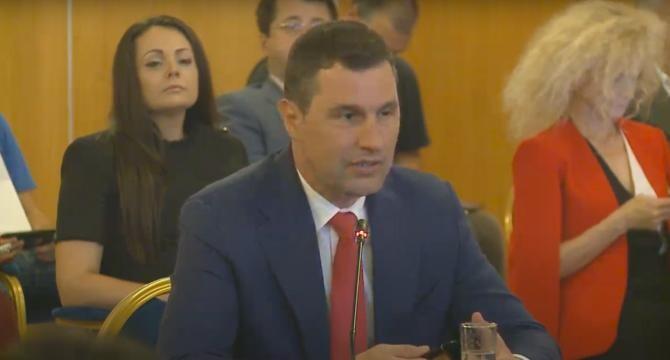 Ministrul Mediului Tanczos Barna / Captură DCNewsTV