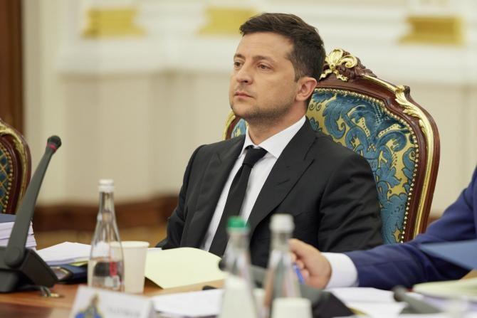 Ucraina a impus noi sancțiuni băncilor din Federația Rusă  /  Sursă foto: Facebook Volodymyr Zelenski