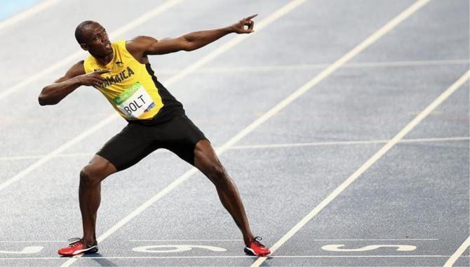 Usain Bolt e tată de gemeni / Foto: Facebook