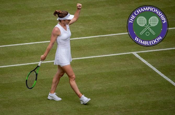 Wimbledon 2021. Simona Halep, întâmpinată cu o surpriză dulce la sosirea la Londra