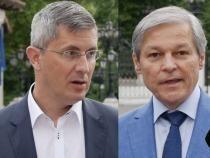 foto Dan Barna - Dacian Cioloș/ colaj dcnews, capturi video
