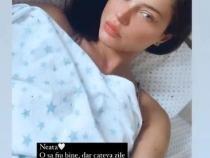 Cristina Ich, din nou pe patul de spital
