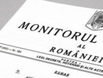 Decretul privind revocarea lui Nazare din funcţia de ministru de Finanţe, publicat în Monitorul Oficial