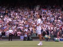 Djokovic defilează la Wimbledon 2021. Calificare lejeră în sferturi / Captură Video YouTube Wimbledon