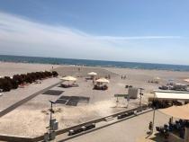 """Plaja lărgită Mamaia foto turiști grup """"Am fost în vacanță"""""""