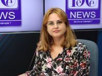 Mirela Polifronie (ANM), la DC News TV / Foto Crișan Andreescu