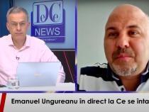 Emanuel Ungureanu, la 'Ce se întâmplă?' de la DC News TV