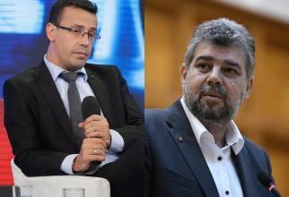 """Ciutacu, nervos către Ciolacu: """"Ai voștri nu știu să scrie?"""" Răspunsul liderului PSD l-a lăsat mască"""