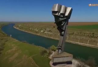 Monument românesc unic în Europa, abandonat - Captură Video