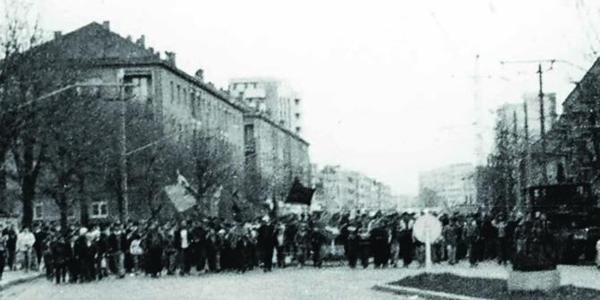 15 noiembrie - Ziua Revoltei Anticomuniste de la Brașov din 1987 Foto bizbrasov.ro