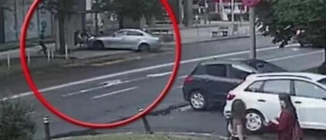 Noi imagini de la tragedia din stația de autobuz din Baia Mare / Foto: Captură video Observator