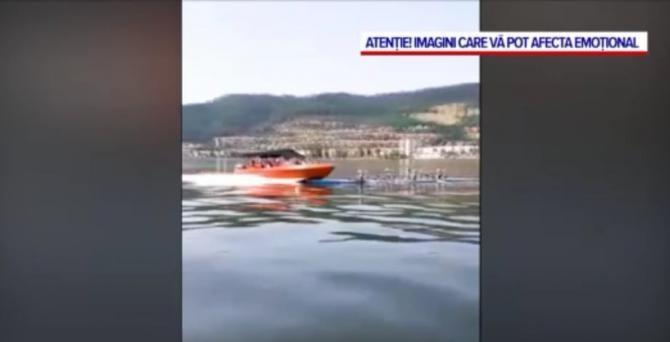 Accident pe Dunăre. Fostul polițist poate conduce în continuare / Foto: Captură video PRO TV